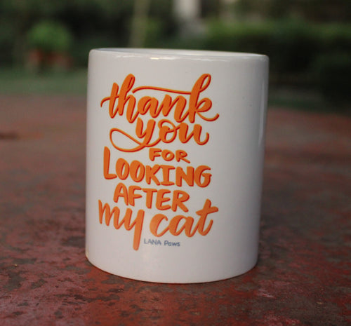 Thank you (Cat) - Tea/Coffee Mug