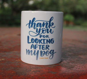 Thank you (Dog) - Tea/Coffee Mug