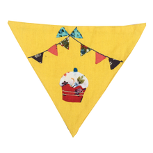My Cupcake! - Handmade Patchwork Slip-on Dog Bandana (Limited Edition)