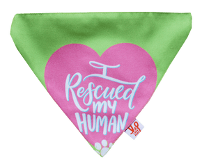 Lana Paws Rescued Dog Bandana Scarf Gift