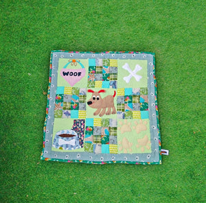 Handmade Dog/Cat Mat OR Dog/Cat Blanket in Pastel Green