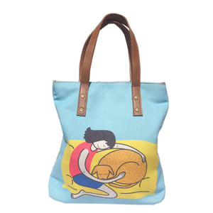 Snoozin' Together Tote