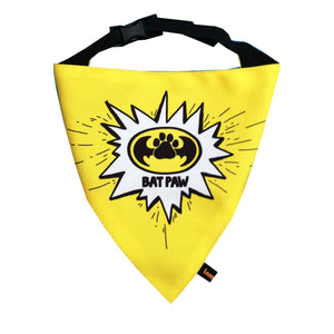 BatPaw (SuperDog) - Adjustable Dog Bandana