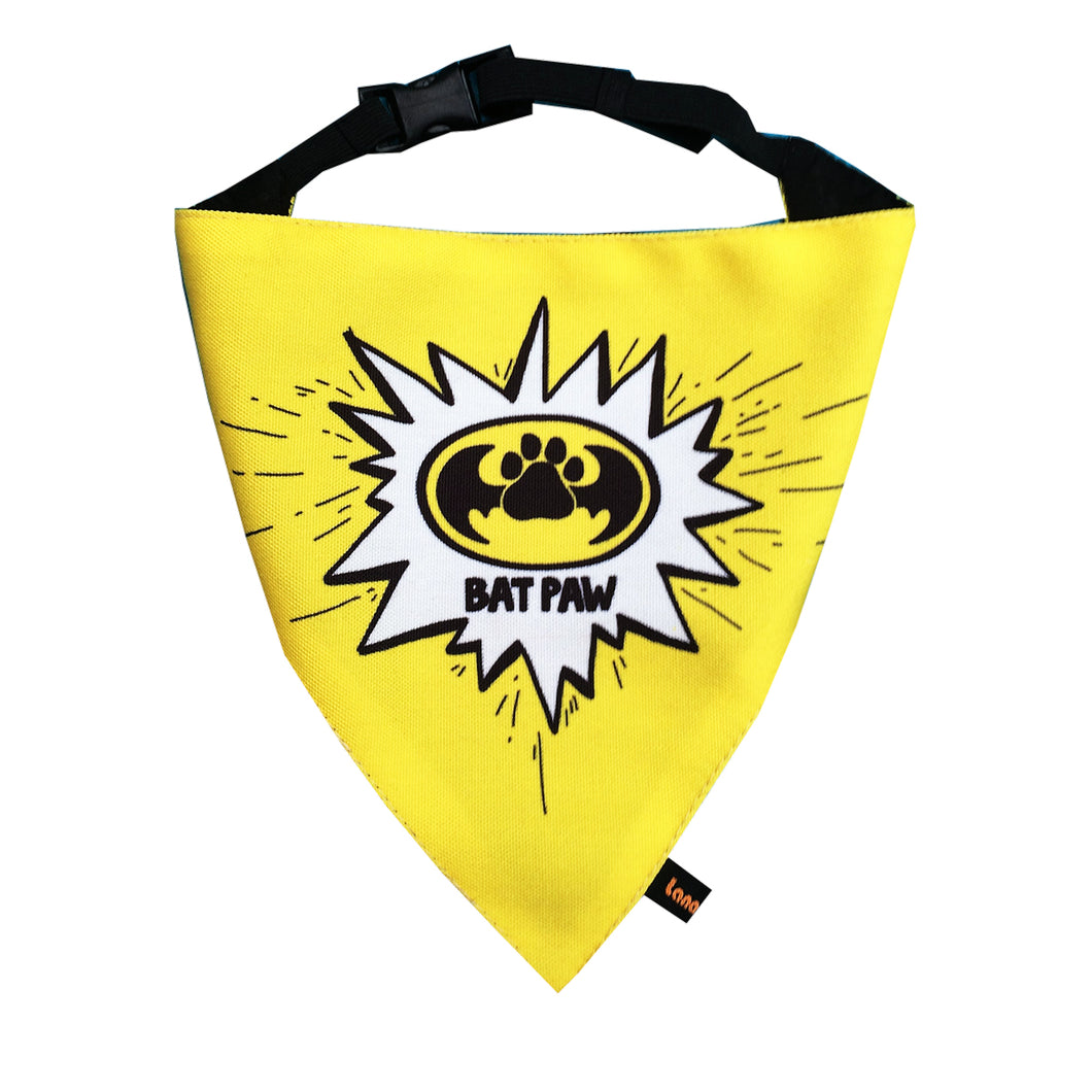 BatPaw (SuperDog) - Adjustable Bandana