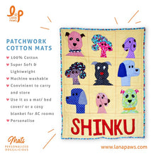 Lana Paws cotton patchwork dog mats