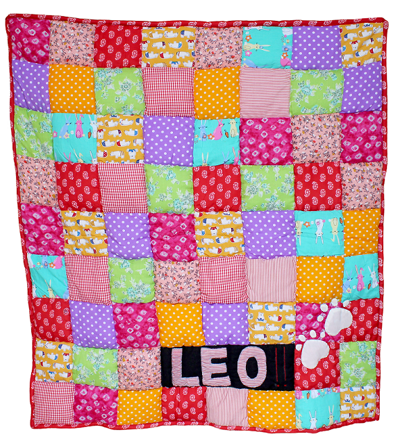 Lana Paws patchwork dog mat