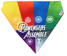 Pawvengers United Superheroes - Adjustable Bandana