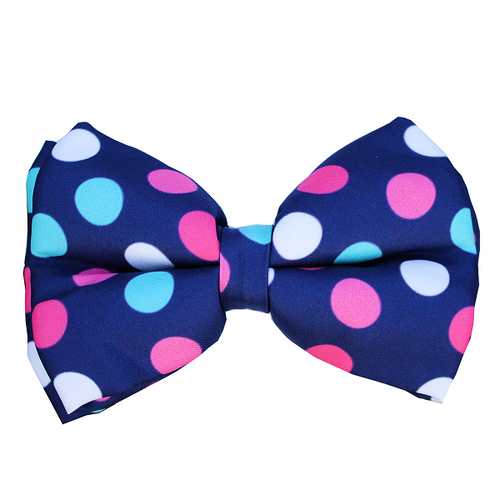 Lana Paws polka dots bow tie for dogs