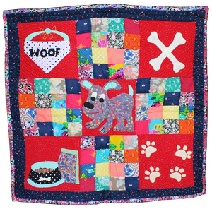 Lana Paws Patchwork Dog Blanket