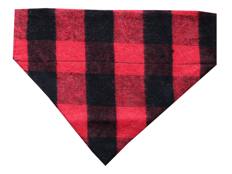 Lana Paws Winter Plaid Dog Bandana