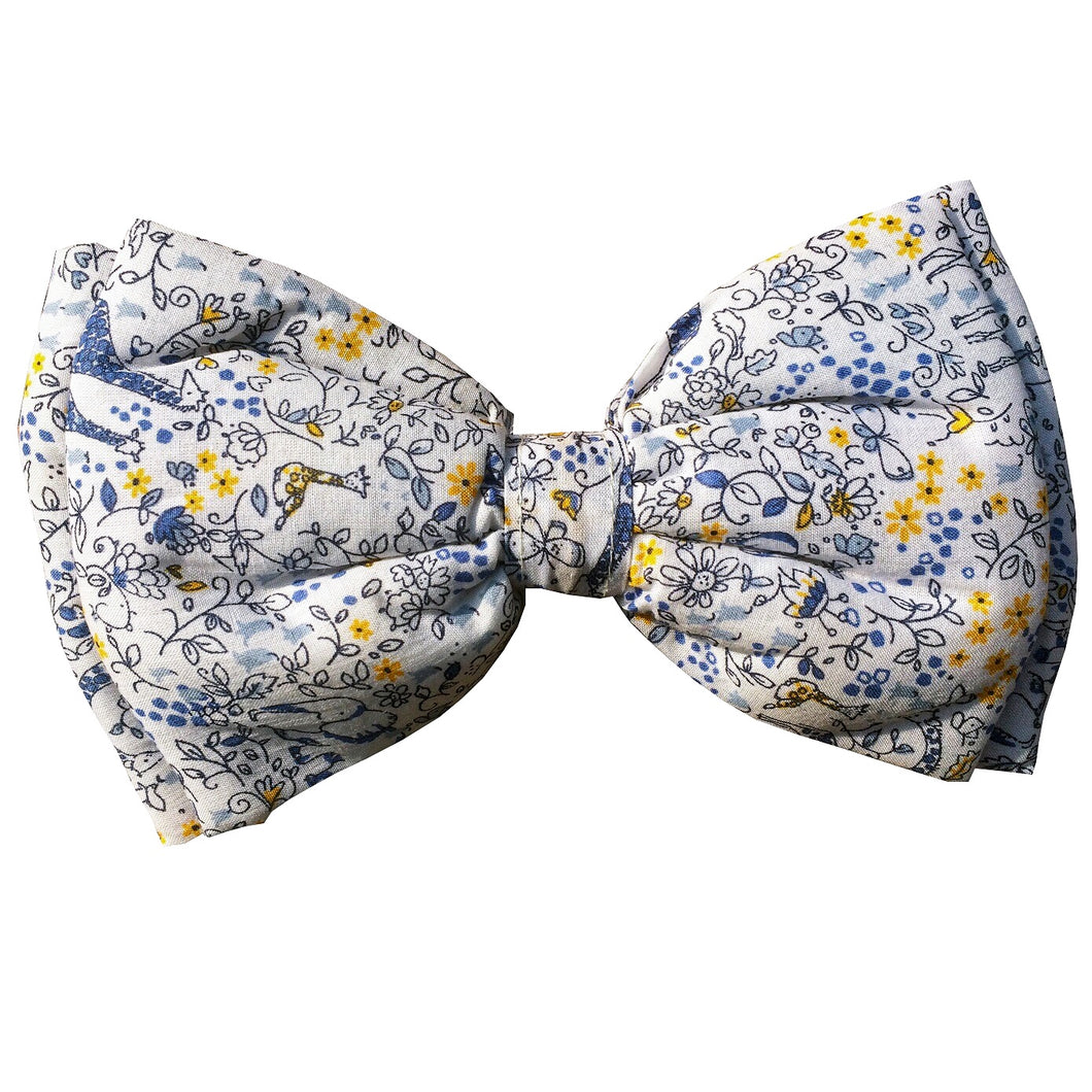 Wild Flowers - Adjustable Dog Bowtie
