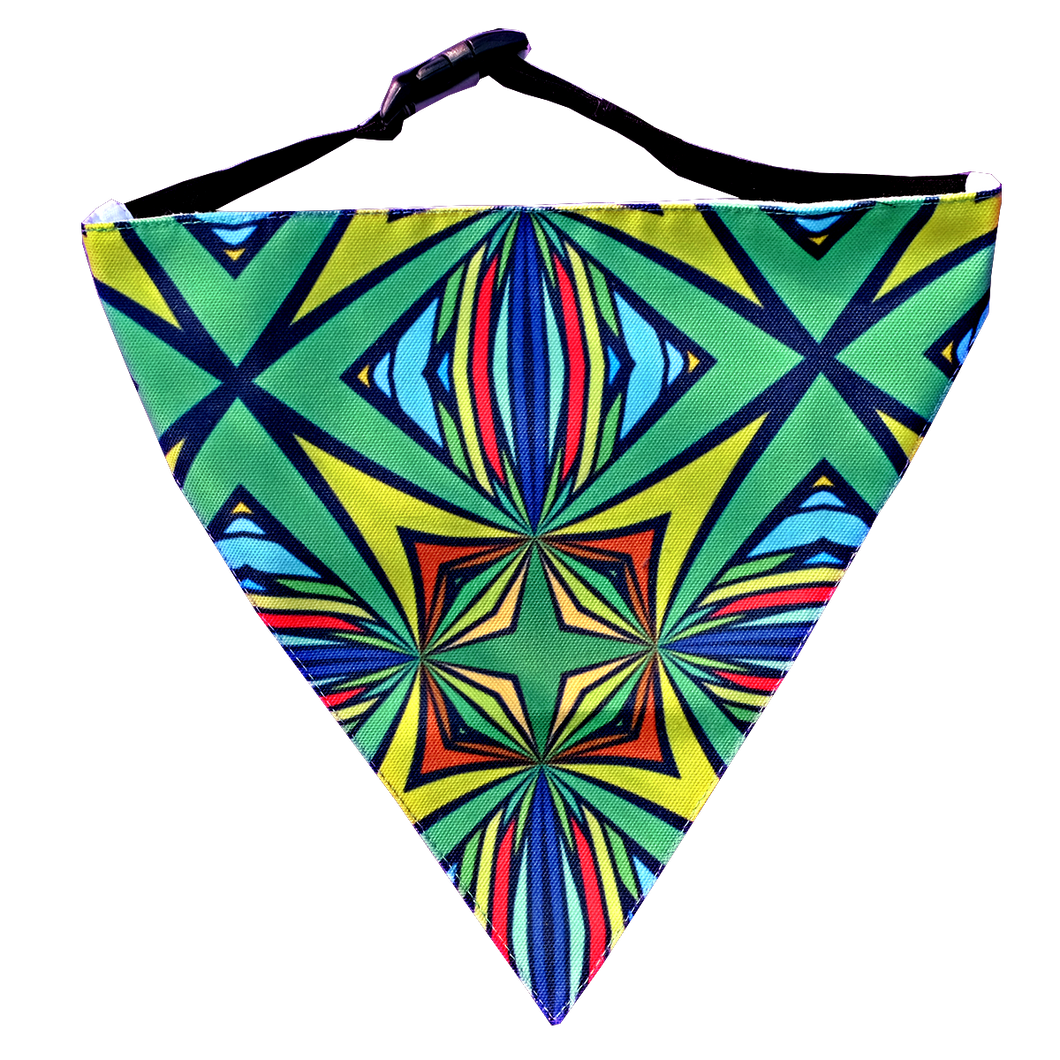 Abstract - Adjustable Dog Bandana