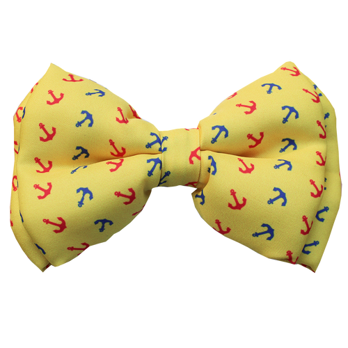 Anchored in Love - Adjustable Dog Bowtie