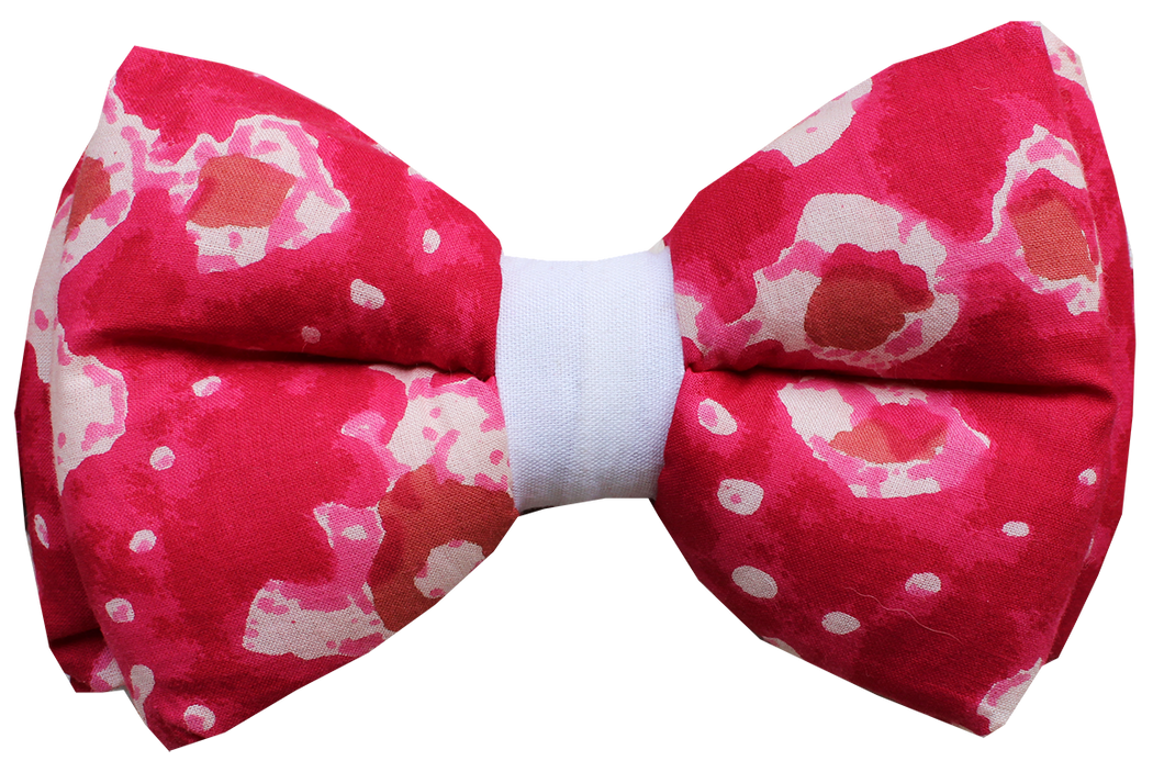 Bandhani Print - Adjustable Dog Bowtie