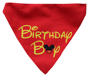 Lana Paws Birthday Boy Dog bandana