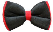 Lana Paws black and red festive dog bow tie