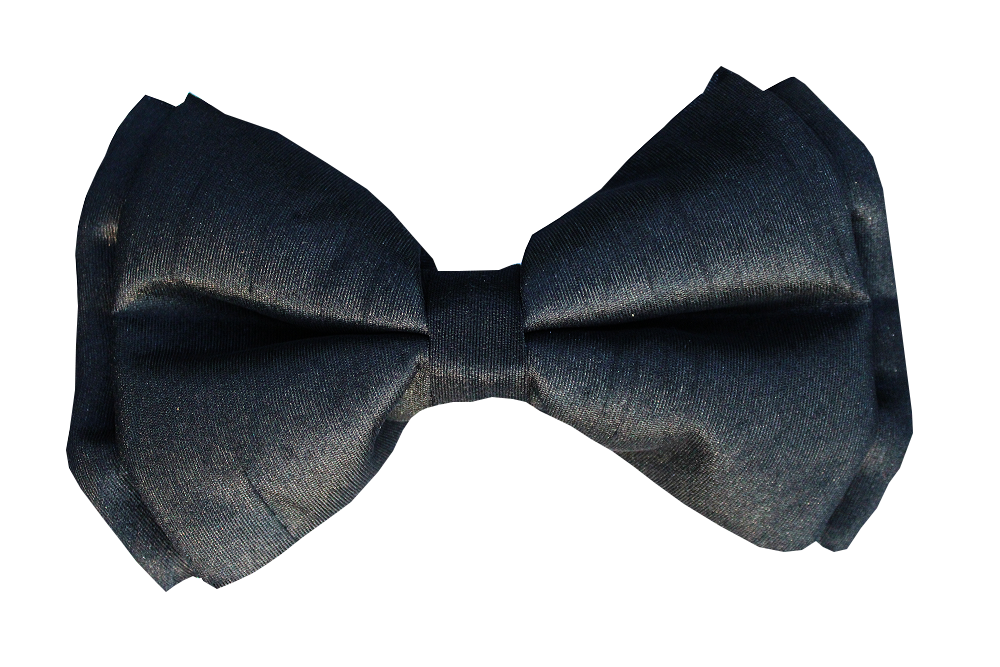 Lana Paws black dog bow tie