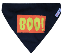 Boo! Halloween Special - Adjustable Dog Bandana/ Dog Scarf
