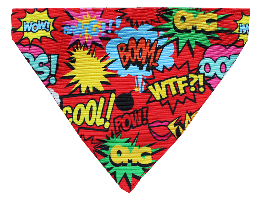 Lana Paws Comic Strip Dog Bandana