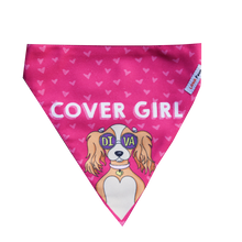 Lana Paws Diva dog bandana for girl dog