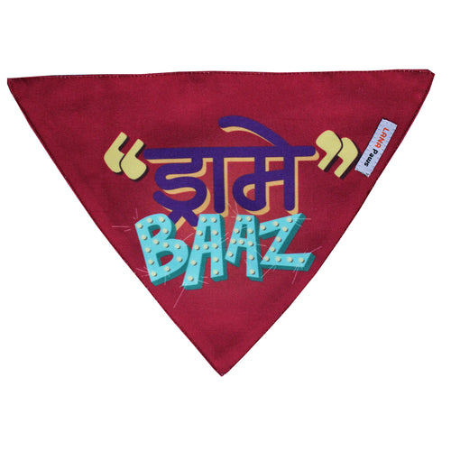 Drame Baaz - Adjustable Dog Bandana