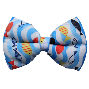 Lana Paws fish dog bow tie