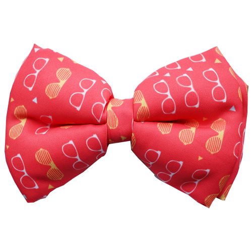 Lana Paws funky frames adjustable dog bow tie