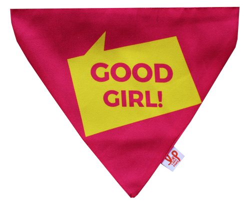 Good Girl Dog Bandana