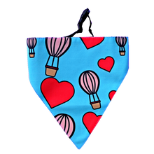 Lana Paws dog bandana in blue