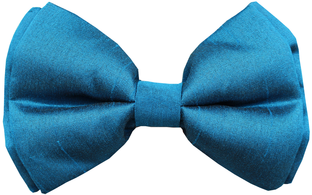 Lana Paws midnight blue dog bow tie
