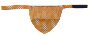 Aafreen Collection Dog Bandana - Mustard (Adjustable)
