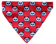 Lana Paws Panda Red Dog Bandana Scarf