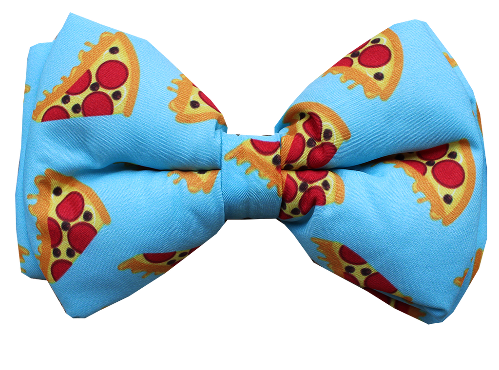 Pizza Party - Adjustable Dog Bowtie