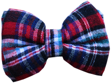 Lana Paws dog bow tie plaid tartan