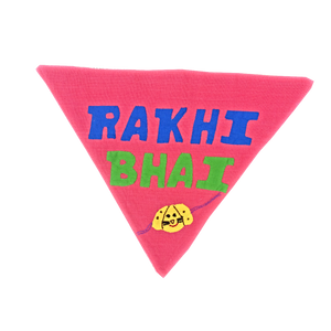 Rakhi Bhai - Handmade Patchwork Slip-on Dog Bandana (Limited Edition)