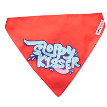 Lana Paws sloppy kisser dog bandana