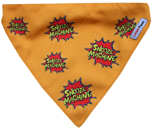 Snooze Machine - Adjustable Dog Bandana/ Dog Scarf