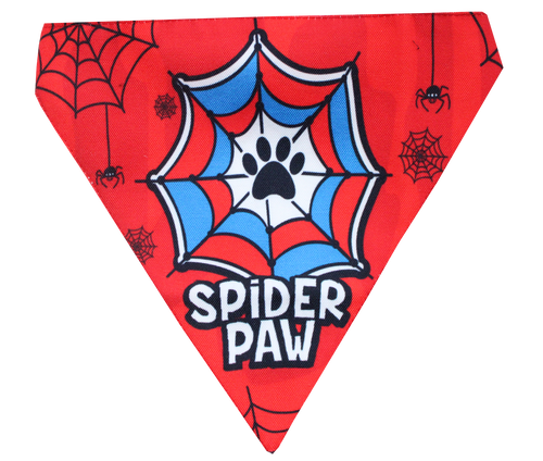 Spiderman dog bandana scarf Lana Paws