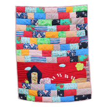 Lana Paws patchwork red dog bed mat