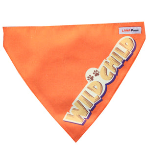 Lana Paws Wild Child Dog bandana scarf