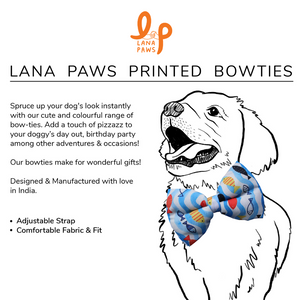 Fishy Business - Adjustable Dog Bowtie