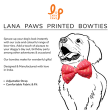 Funky Frames - Adjustable Dog Bowtie