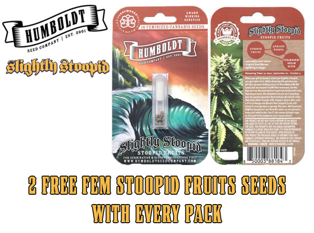 Free Stoopid Fruits seeds Humboldt Natural Selection Leeds