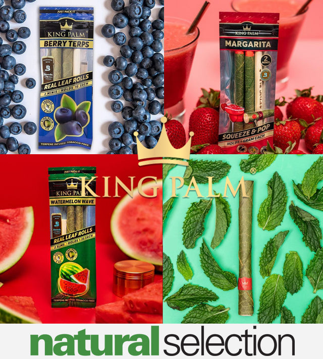 Natural Selection King Palm flavoured blunts Natural Selection Leeds