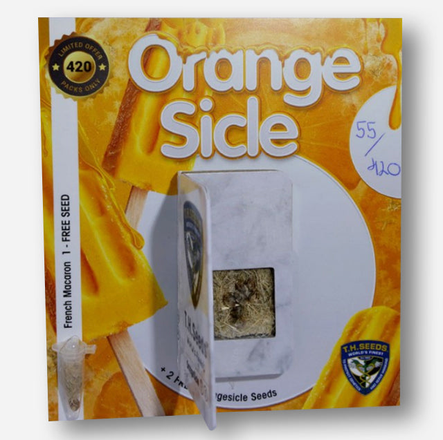 Limited edition Orangesicle packaging