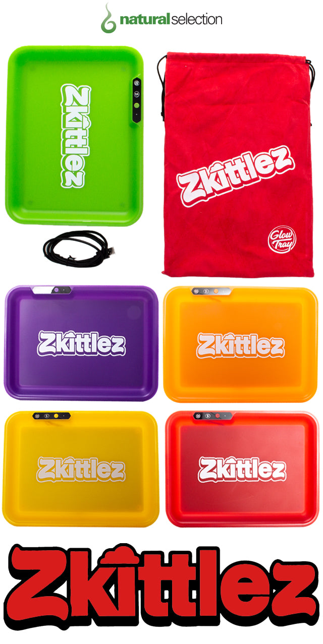 Zkittlez Glow Tray Natural Selection Leeds