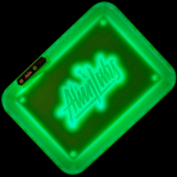 Glow Tray x Alien Labs LED Rolling Tray (Green)