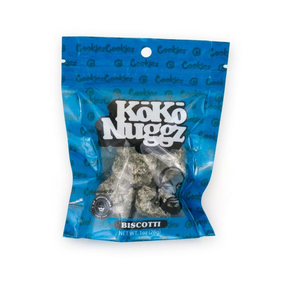 Koko Nuggz Chocolate Buds - Biscotti Flavour 1oz
