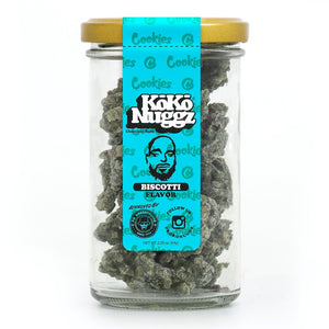 Koko Nuggz Chocolate Buds - Biscotti Flavour 2.25oz