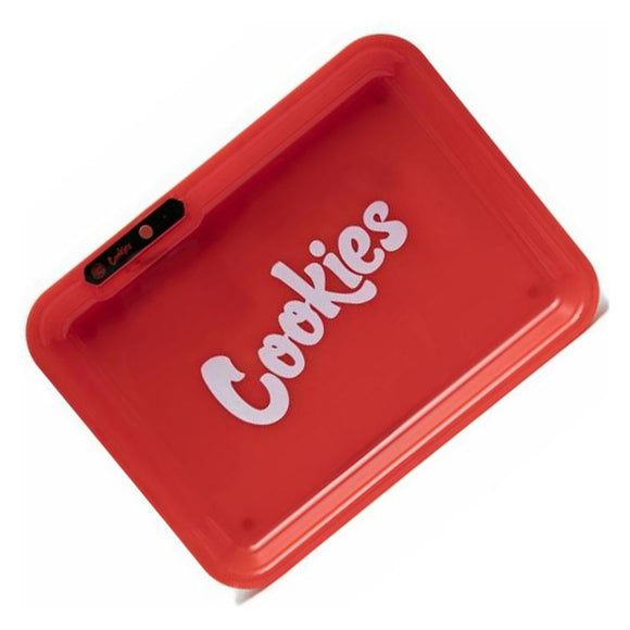 Glow LED Rolling Tray Cookies Red
